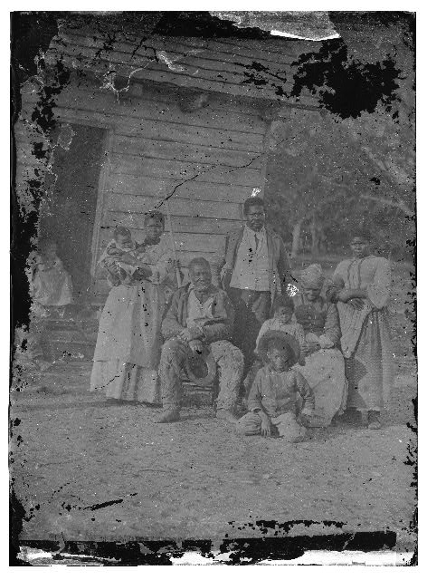 Beaufort, South Carolina. Negro family representing several generations. All born on the plantation of J.J. Smith
