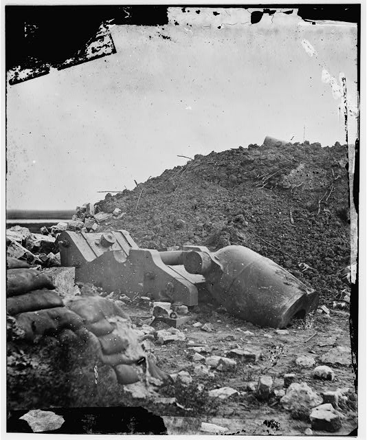 [Fort Pulaski, Ga. Dismounted mortar]