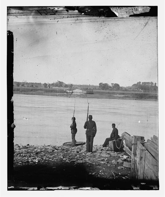 [Port Royal Island, S.C. Coosaw Ferry; battleground of January 1, 1862, in the distance]