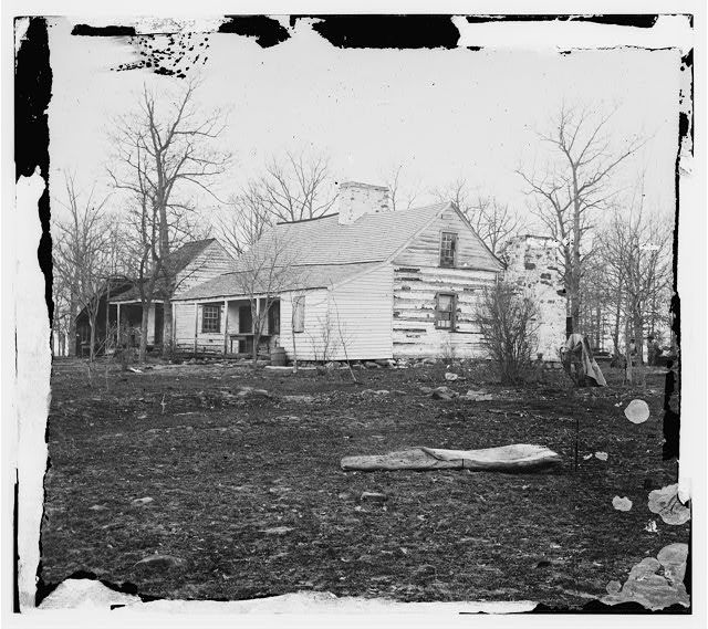 [Centreville, Va., vicinity. Mrs. Spinner's house]