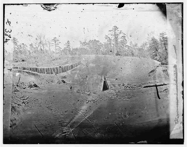 Yorktown, Virginia. Battery No. 4