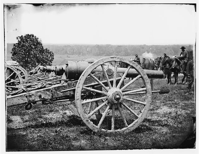 [Richmond, Va., vicinity. 1st New York Pettit's Battery, Artillery]