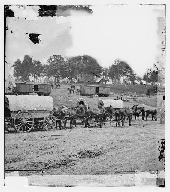 [Savage Station, Va. Headquarters of Gen. George B. McClellan on the Richmond & York River Railroad]