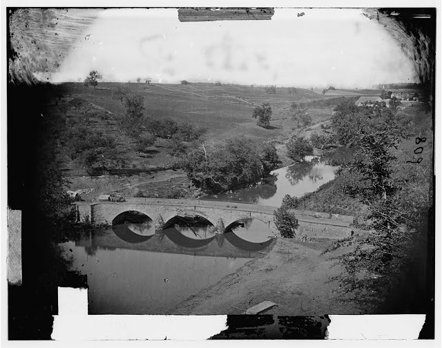 [Antietam, Md. Another view of Antietam bridge]
