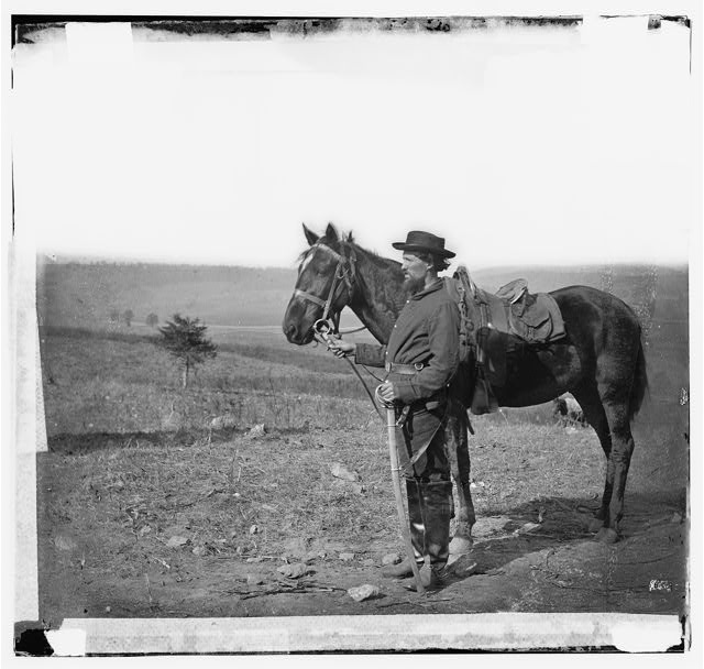 [Antietam, Md. A cavalry orderly]
