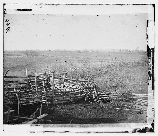 [Bull Run, Va. View of the battlefield]
