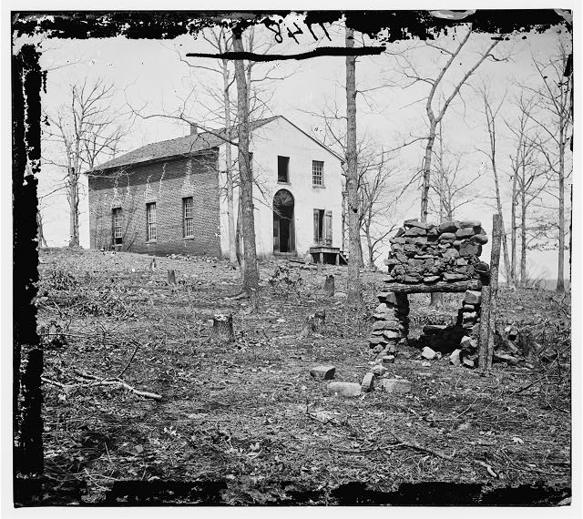 Bull Run, Virginia. Sudley church