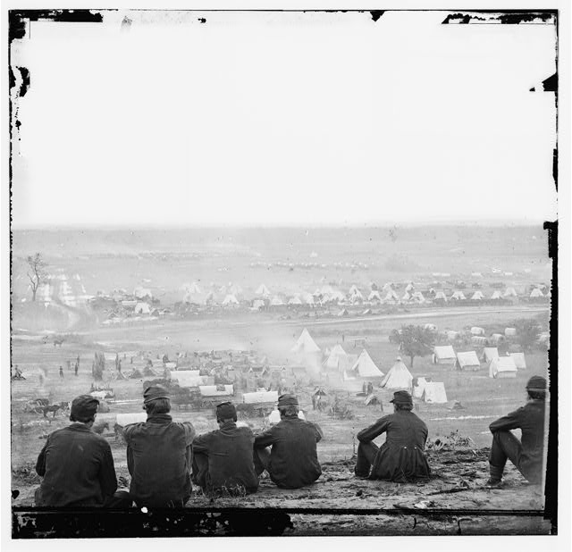 [Cumberland Landing, Va. Federal encampment on Pamunkey River, Va.; another view]