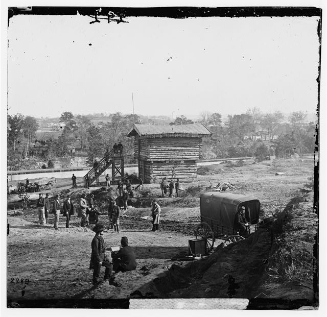 [Arlington Heights, Va.  Blockhouse near Aqueduct Bridge]
