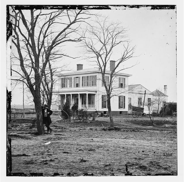 Alexandria, Virginia (vicinity). Gen. Samuel P. Heintzelman's headquarters at Fort Lyon