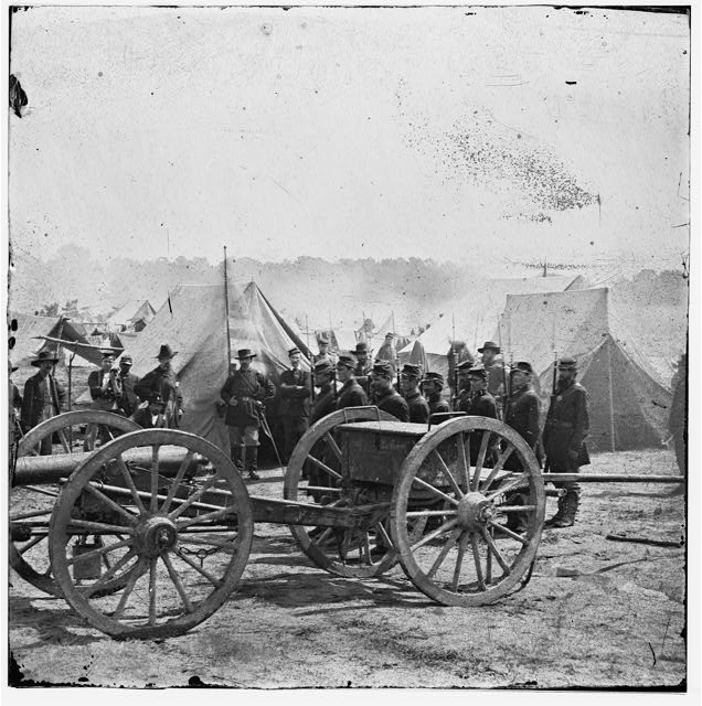 [The Peninsula, Va. A 12-pdr. howitzer gun captured by Butterfield&#39;s Brigade near Hanover Court House, May 27, 1862]