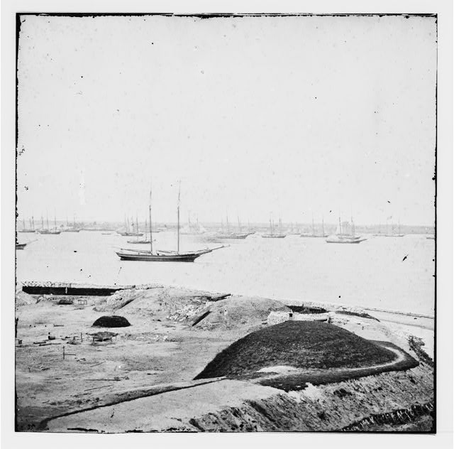 Yorktown, Virginia. Water battery