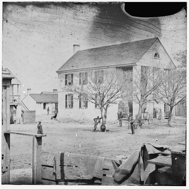Yorktown, Virginia. View of Court House