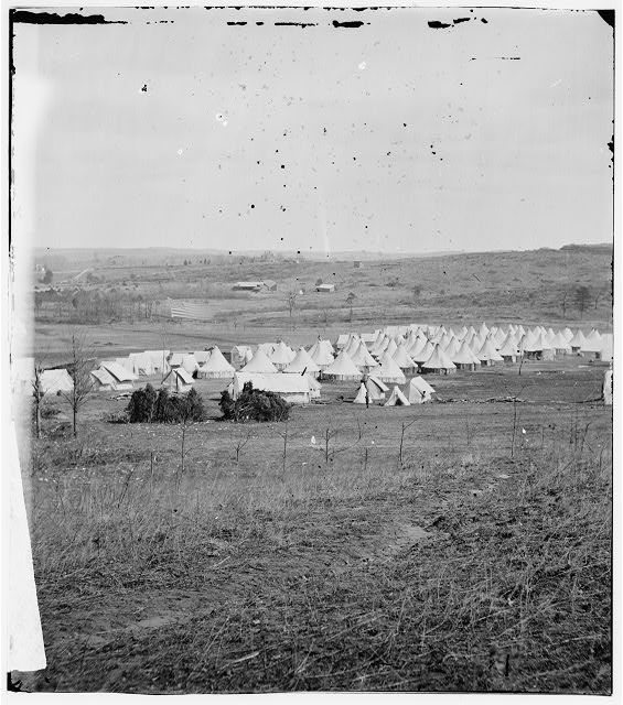 Washington, District of Columbia. Camp of 31st Penn. Inf. (later, 82d Penn. Inf.) at Queen's farm, vicinity of Fort Slocum