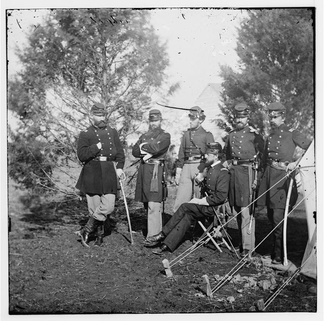 Officers of 1st New York Light Artillery