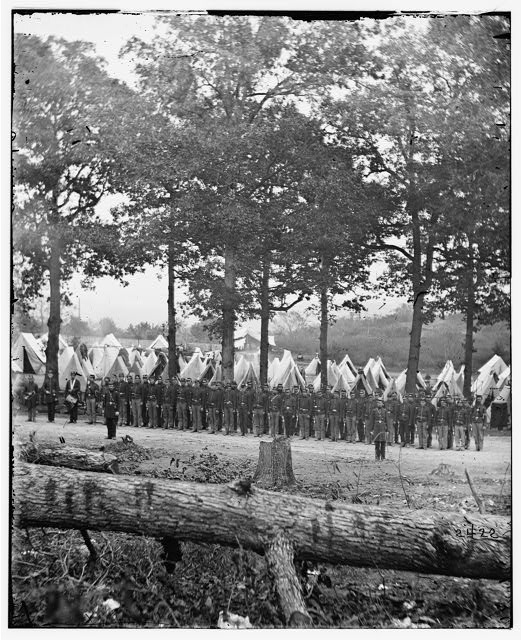 Camp of 35th New York Volunteers. (Jefferson County Regiment)