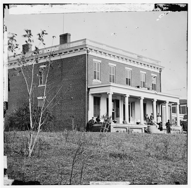Varina landing, Virginia (vicinity). Aiken house on James River
