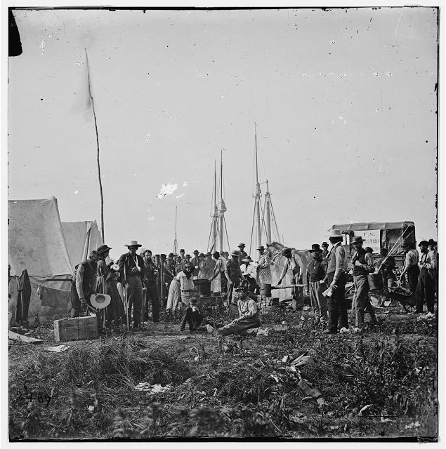 [White House Landing, Va. Headquarters of the U.S. Christian Commission]