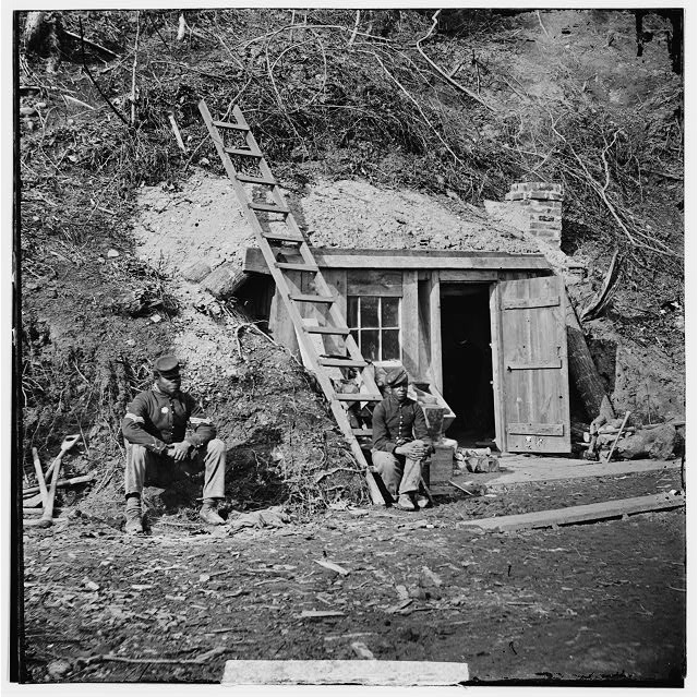 [Dutch Gap, Va. Bomb-proof quarters of Major Strong]