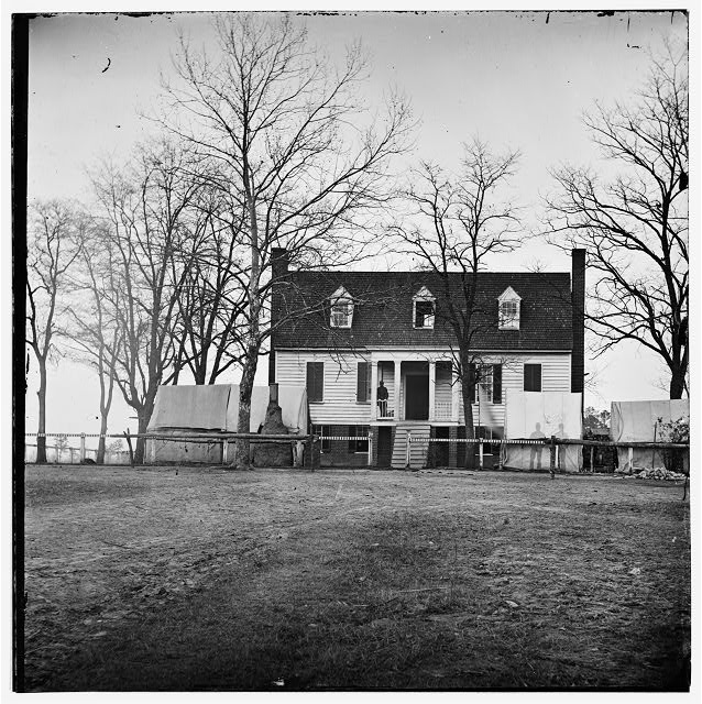 [Chapin's Bluff], Virginia (vicinity). Gen. David B. Birney's headquarters