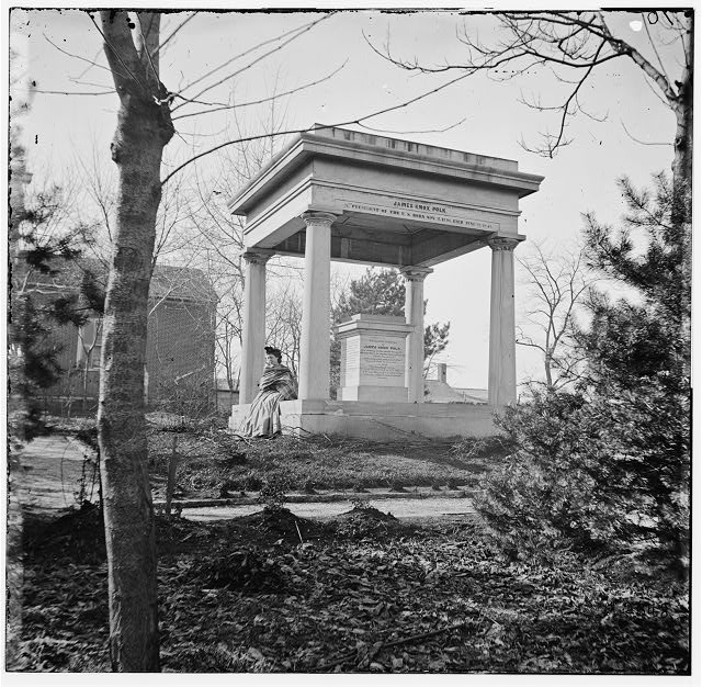 Nashville, Tennessee. Tomb of President James K. Polk