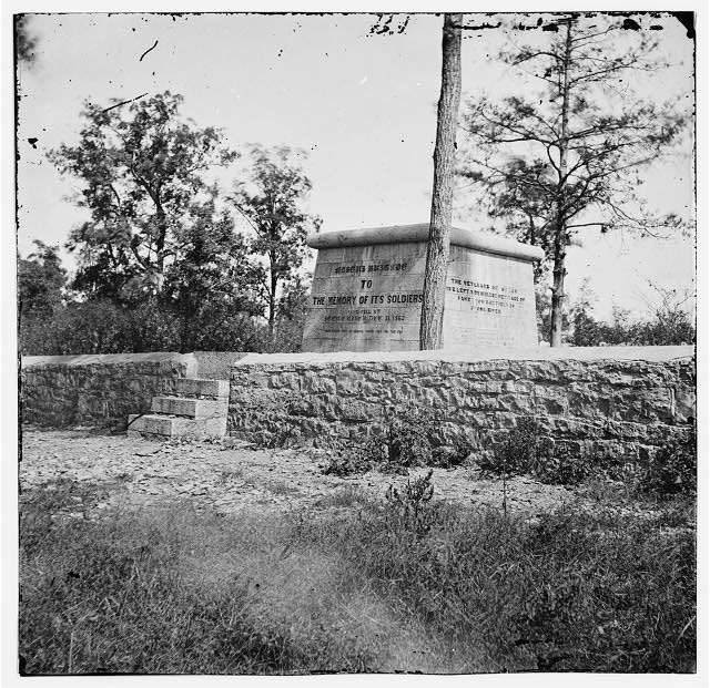 Murfreesboro, Tennessee (vicinity). Monument erected on the battlefield at Stones River in 1863