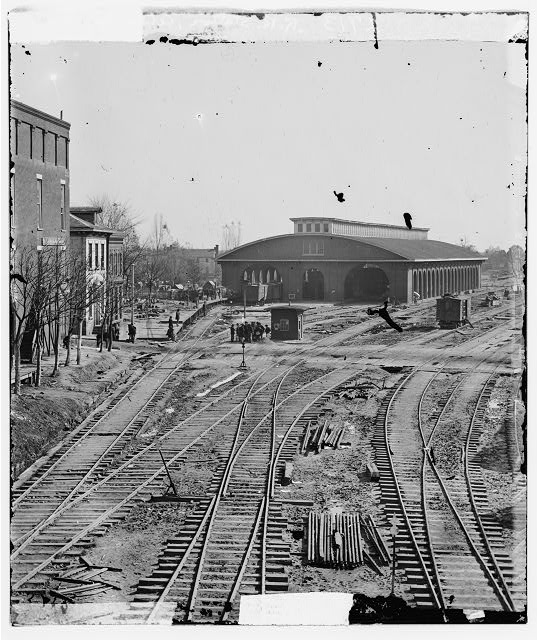 Atlanta, Georgia. Railroad depot
