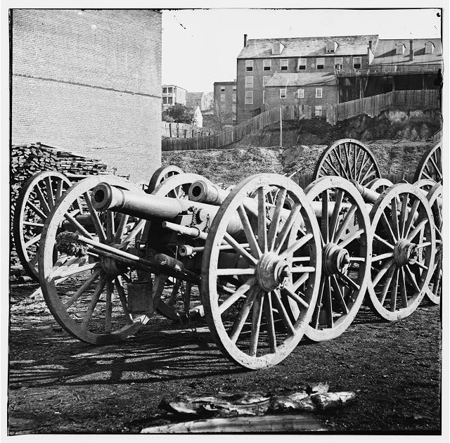 [Unknown location. 6-pdr. field gun, model 1841]