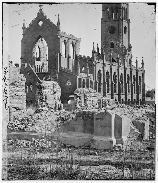 Charleston, South Carolina. Cathedral of St. John and St. Finbar; another view