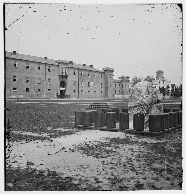 [Charleston, S.C. The Citadel seen across Marion Square]
