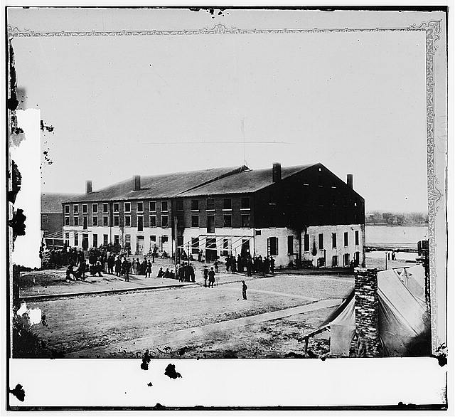 Richmond, Virginia. libby prison, North side