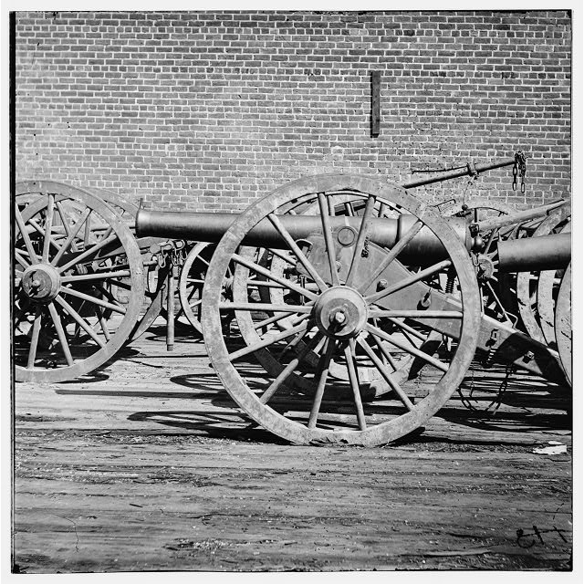 Richmond, Virginia. A light Brooke rifle. (3-inch gun)