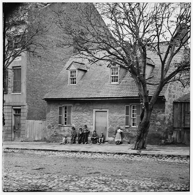 "[Richmond, Va. The Old Stone House (""Washington's headquarters,"" 1916 East Main Street]"
