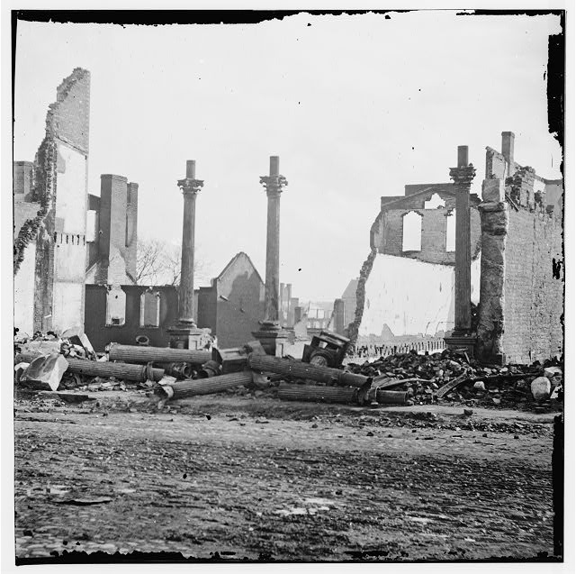 [Richmond, Va. Ruins of the Southern Express Office (Carey Street)]