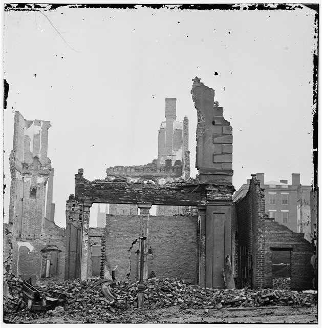 Richmond, Virginia. View of burned district