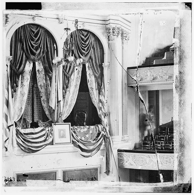 Washington, District of Columbia. President&#39;s box at Ford&#39;s Theatre