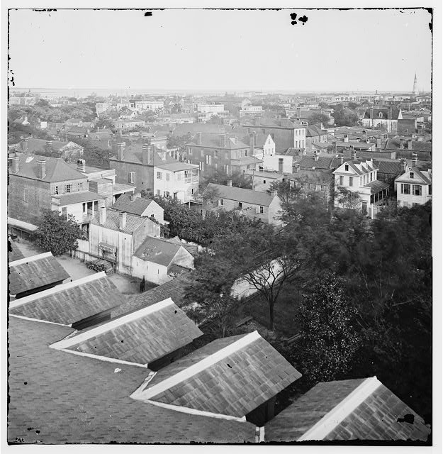 Charleston, South Carolina. View of Charleston from the roof of the Orphan Asylum