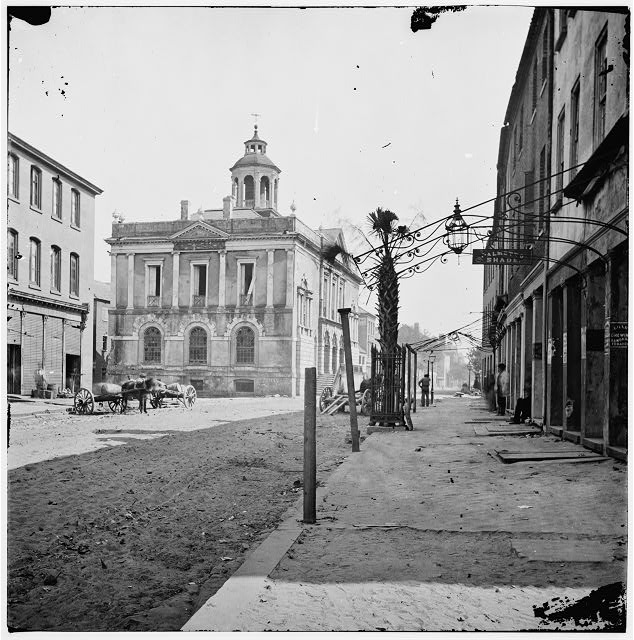 [Charleston, S.C. The Post Office (old Exchange and Custom House, 122 East Bay)]