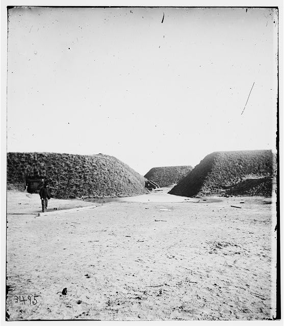 Savannah, Georgia (vicinity). View of Fort McAllister