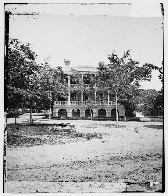 Beaufort, South Carolina. Robert Barnwell Rhett's residence