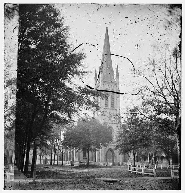 Savannah, Georgia. St. John's Church