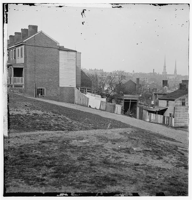 Richmond, Virginia. View from Gambles Hill