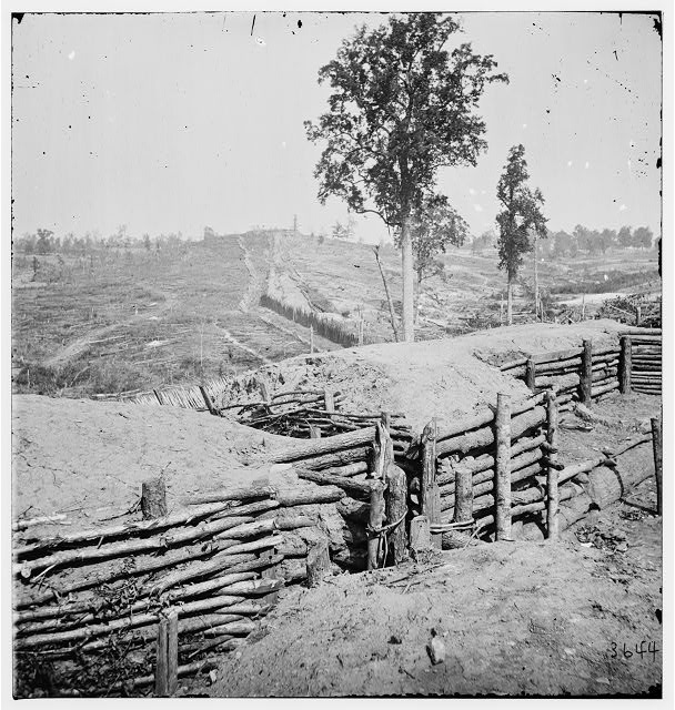 Atlanta, Georgia. Fortifications