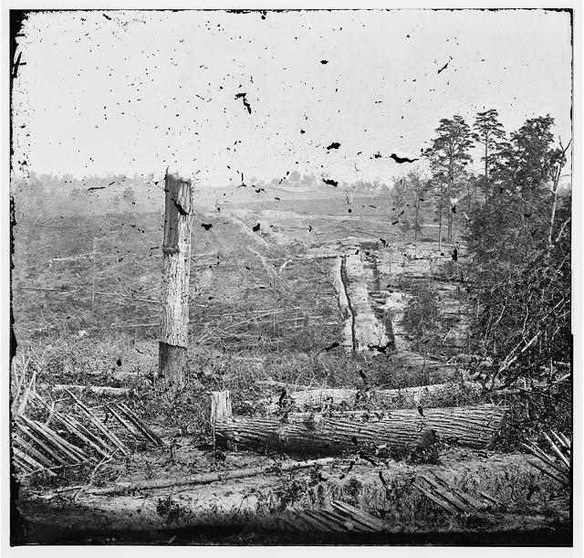 Atlanta, Georgia (vicinity). Fortifications