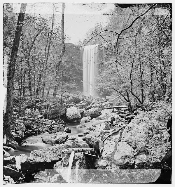 Chattanooga, Tennessee (vicinity). Lulu Falls, Lookout Mt