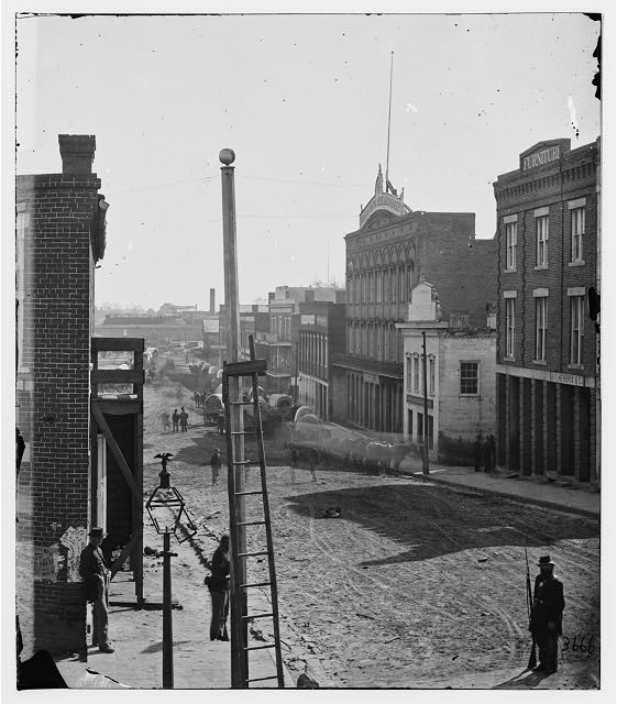 Atlanta, Georgia. View on Marietta Street