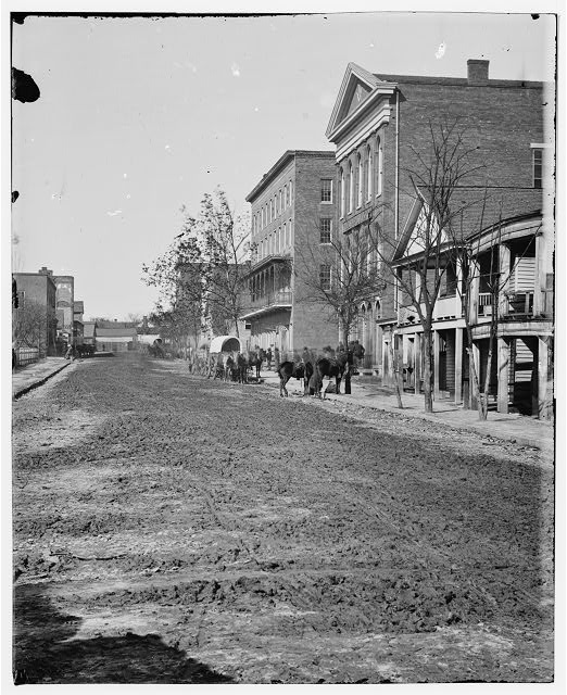[Atlanta, Ga. View on Decatur Street, showing Trout House and Masonic Hall]