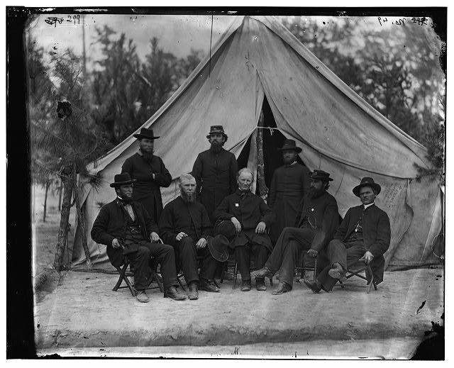 [Petersburg, Va. Chaplains of the 9th Corps]