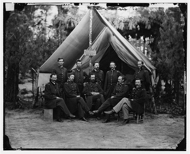 Petersburg, Virginia. Surgeons of 3d Division 9th Army Corps