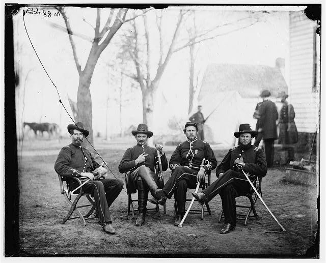 [Brandy Station, Virginia]. Provost Marshals of 3d Army Corps